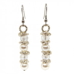 Drop earrings with majorca...