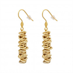 Earrings 7 MM pendants with...
