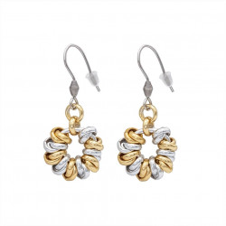 Dangle earrings 6 MM with...