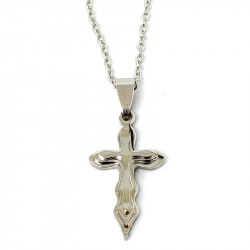 Crucifix necklace in...